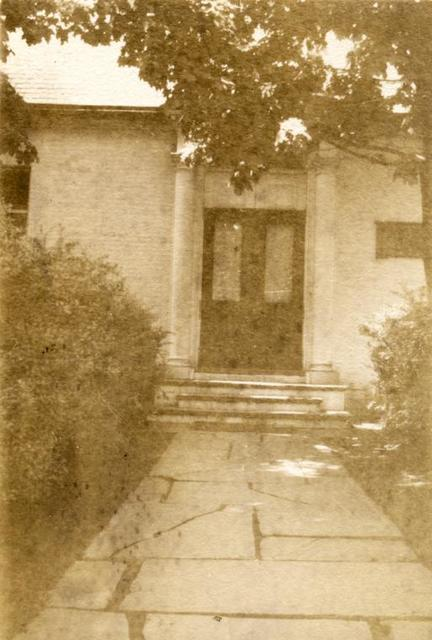 [New Dorp, Exterior, entrance.]