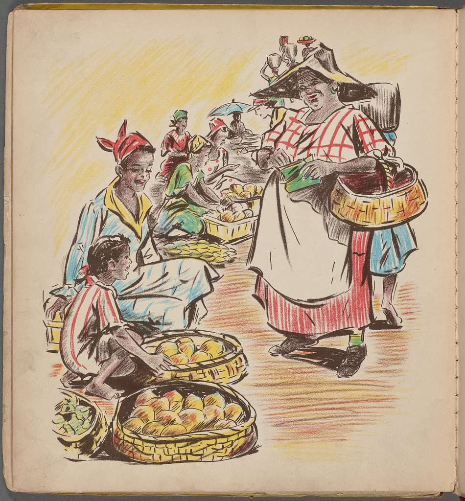 Jeanne-Marie Goes to Market
