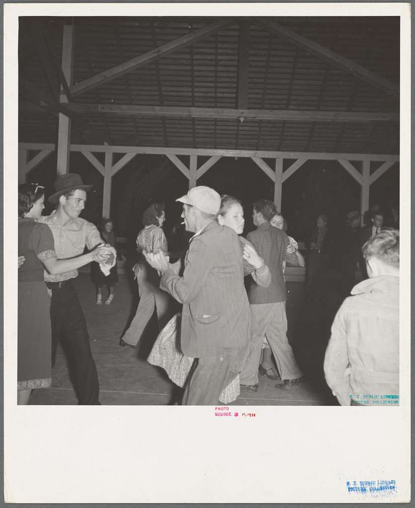 Halloween party at Shafter Camp for migrant agricultural workers. California