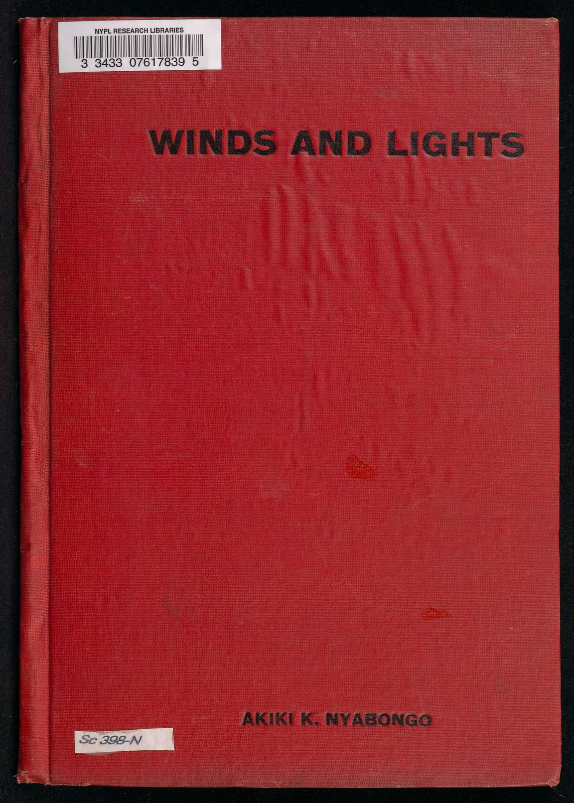 Winds and Lights: African fairy tales