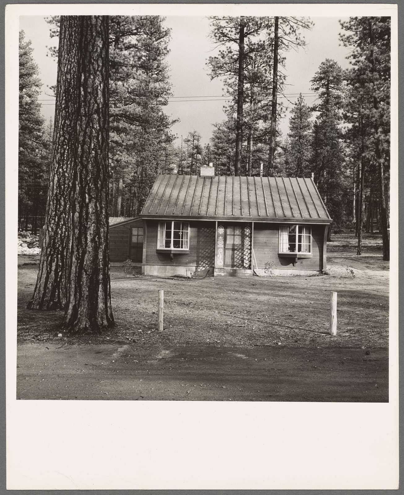 Type house in model lumber company town for millworkers. Gilchrist, Oregon. See general caption 76