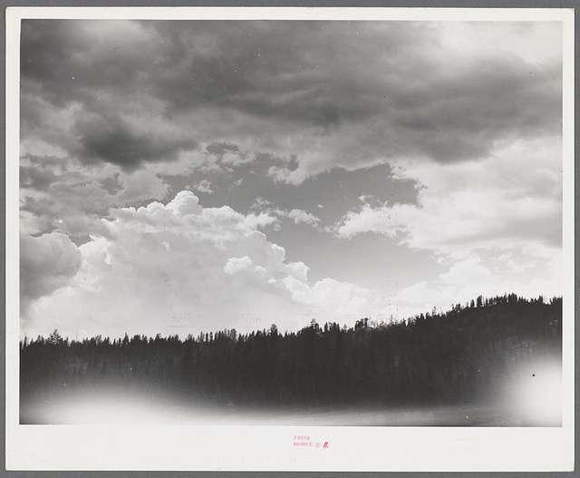 Clouds over Garden Valley. Boise County, Idaho
