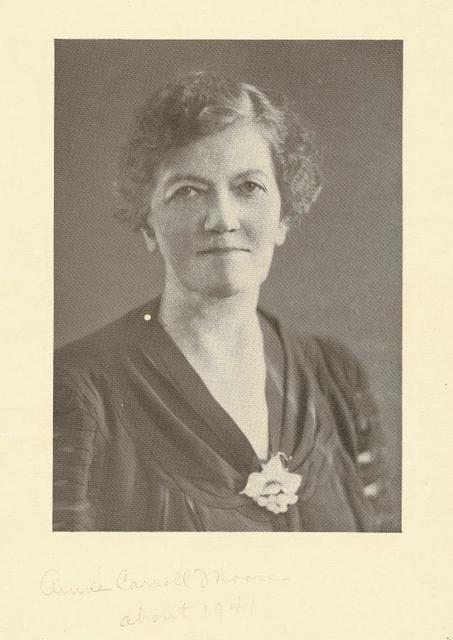Anne Carrol Moore