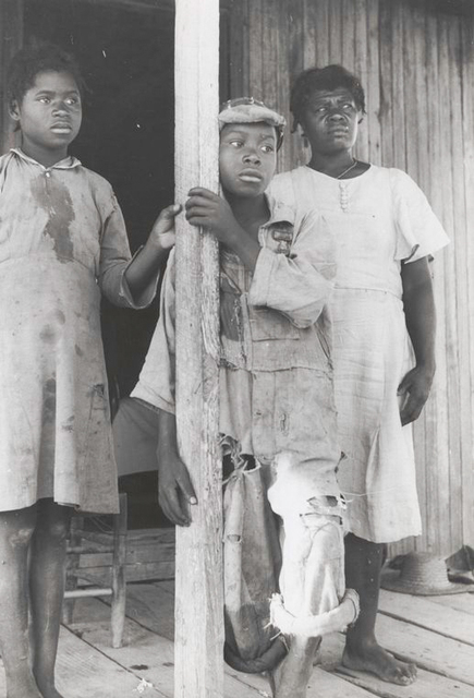 Part of a Negro tenant family, on a farm near Greensboro, Alabama, May 1941.