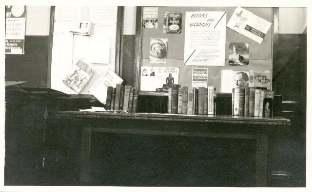 Muhlenberg, Book burning exhibit