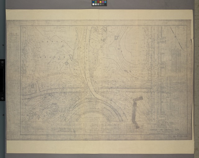 M-T-10-108: [Bounded by North Meadow, East Drive, East 99th Street, East 98th Street, East 97t Street and East 96th Street.]