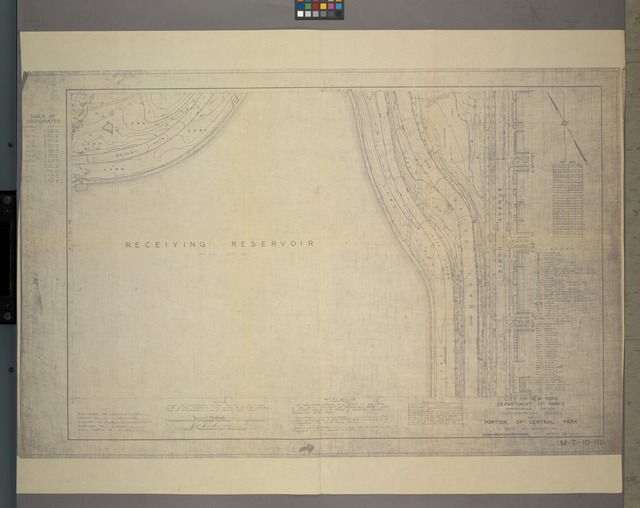 M-T-10-110: [Bounded by Bridle Path, East 95th Street, East 94th Street and East 93rd Street.]