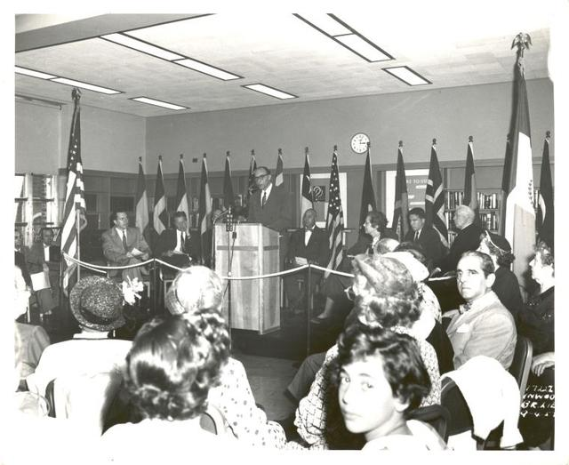 Inwood, Ceremony [Mr. Zurmuhlen speaking?]