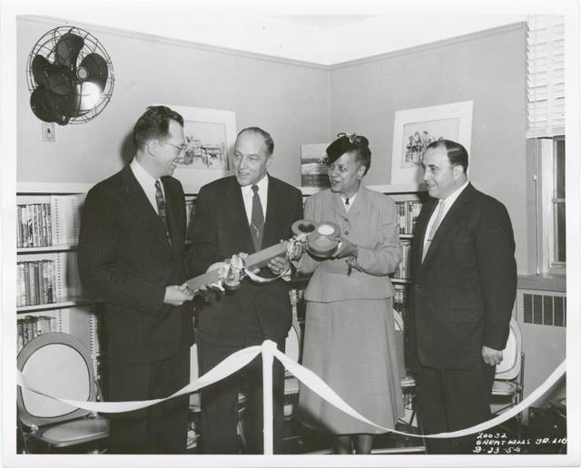 [Great Kills, Mr. Cory, Mr. Zurmuhlen, Anne Hedgman all holding key.]