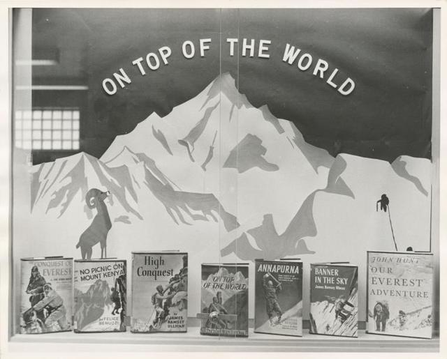 "[Mosholu, Display: ""On Top of the World"".]"