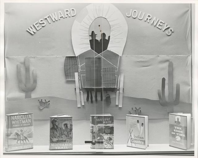 "[Mosholu, Display: ""Westward Journeys"".]"