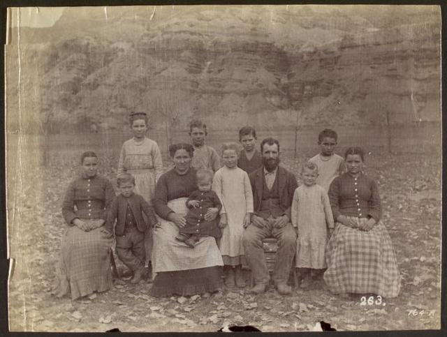 Warren M. Johnson family.