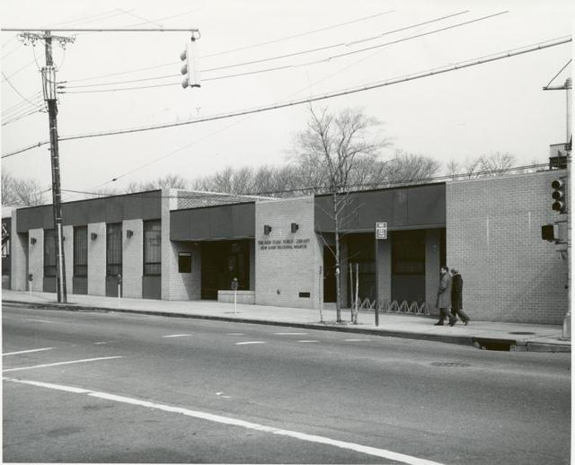 New Dorp Regional Branch, The New York Public Library, New York, New York [Exterior]