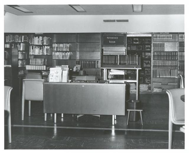 [Hamilton Grange, Information and reference desk.]