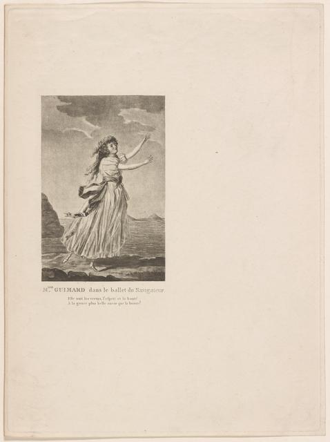 Mlle. Guimard dans le ballet du Navigateur.