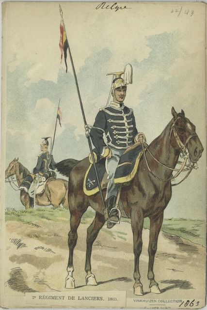 2-e Regiment de lanciers. 1863