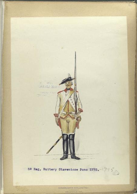 5-o Reg. Ruitery Stavenisse Pons.  1772-1795