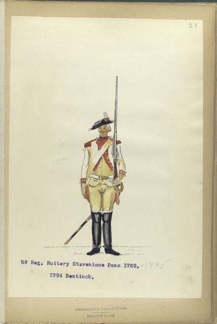 5o- Reg. Stavenisse Pons. 1789-1795. 1794 Bentinck.