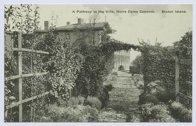 A Pathway to the Villa, Notre Dame Convent. Staten Island
