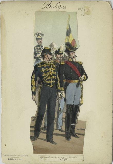 Ajutante di Campo del Re. Generale. 1895