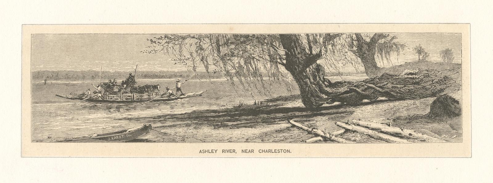 Ashley River, near Charleston