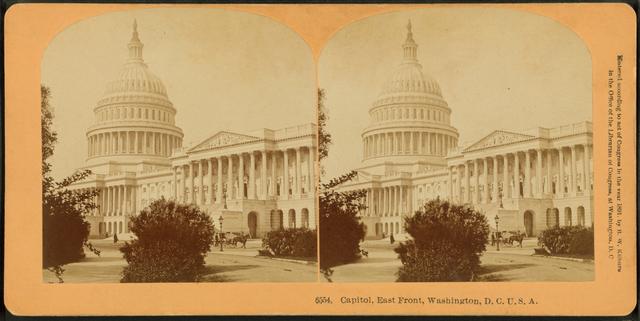 Capitol, East Front, Washington, D.C.