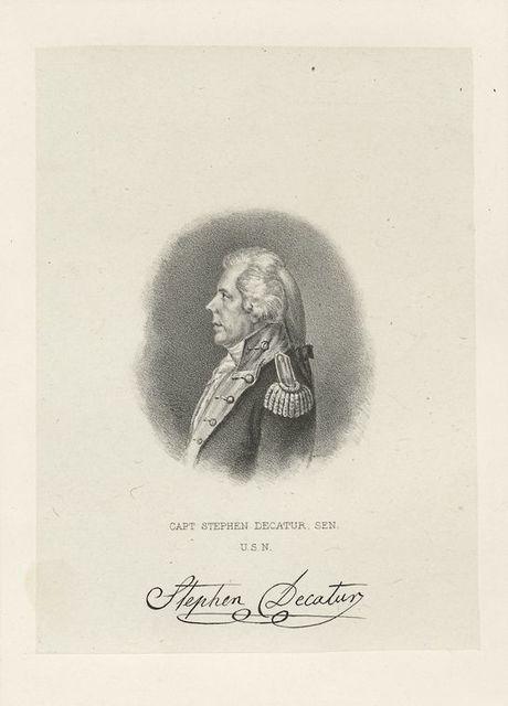 Capt. Stephen Decatur, sen., U.S.N.