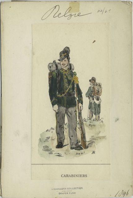 Carabiniers. 1896
