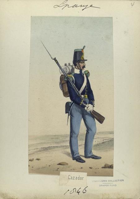 Cazador. 1846