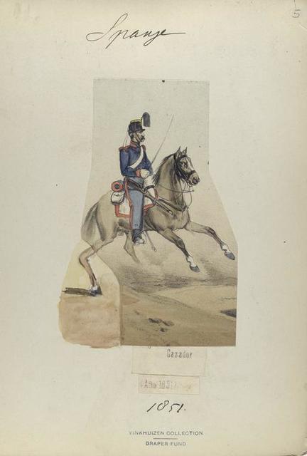 Cazador. 1851