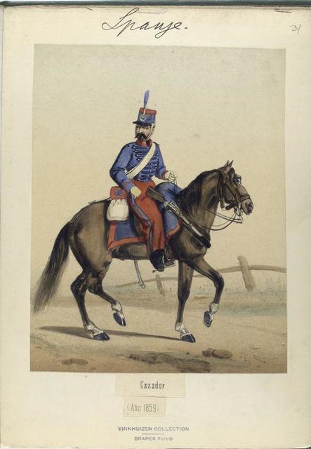 Cazador. 1859