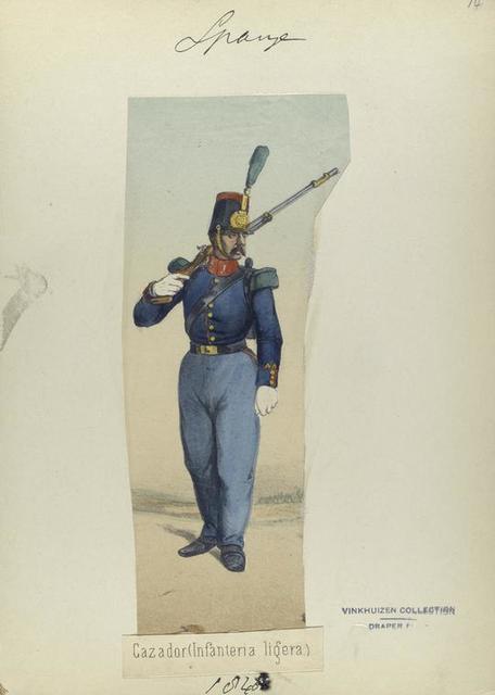 Cazador (Infanteria ligera). 1848