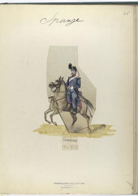 Cazadores. 1856