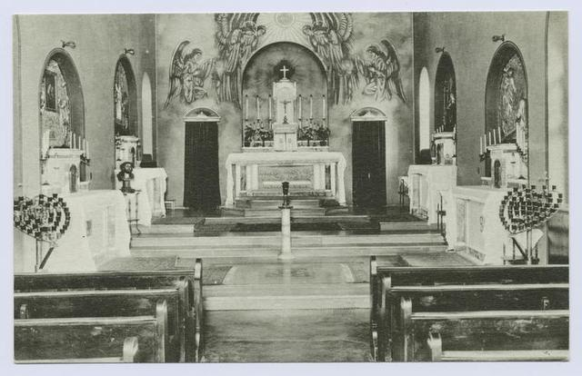 Chapel, Augustinian Academy [int. view]
