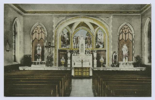 Chapel, St. John's Villa Academy, Arrochar, S.I., N.Y. (int.)