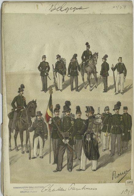 Chasseur Carabiniers. 1872