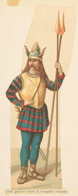Chef Gaulois avant la conquête romaine.