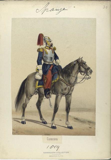 Coracero. 1859