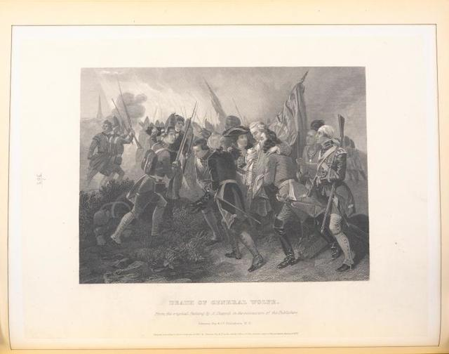 Death of General Wolfe.