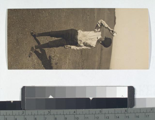 Fig. 1: Boy bouncing a ball