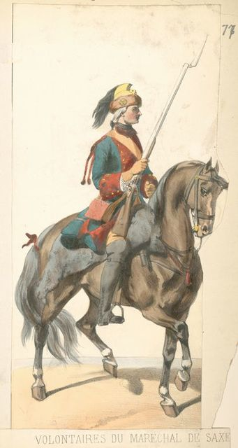France, 1740-1745. Louis XV.