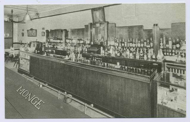 Frank Monge Restaurant [int. bar]