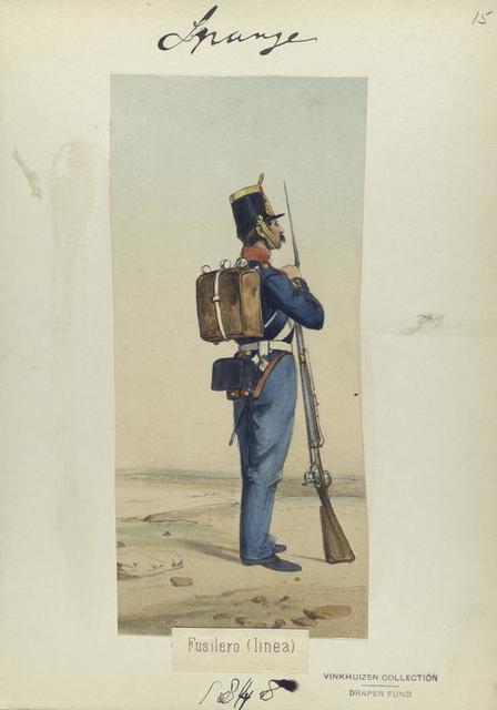 Fusilero (linea). 1848