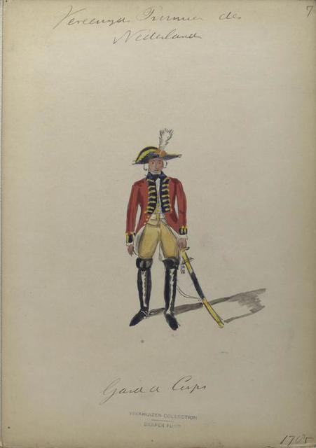 Garde du Corps. 1785