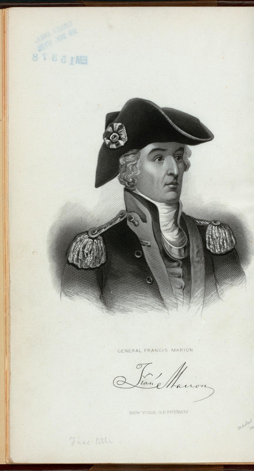 General Francis Marion.
