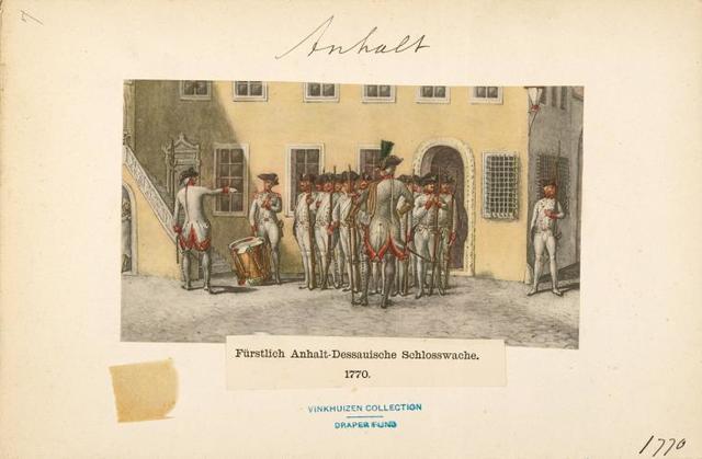 Germany, Anhalt, 1659-1830.
