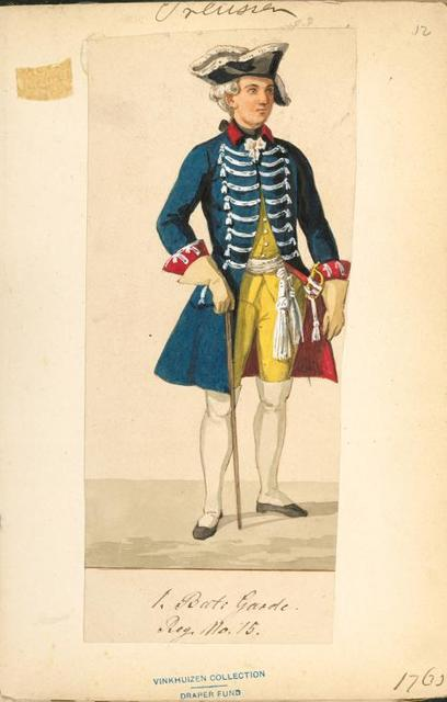 Germany, Prussia, 1763-1765