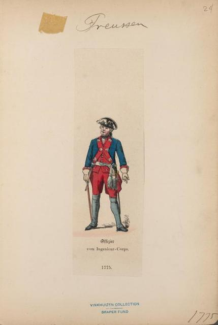Germany, Prussia, 1771-1779