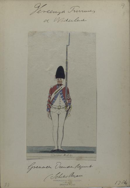 Grenadier Dundas Regiment (Schotsche Brigade). 1784