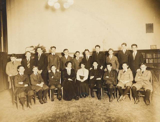 Hamilton Grange Branch, Story Club, Miss Dalphin.